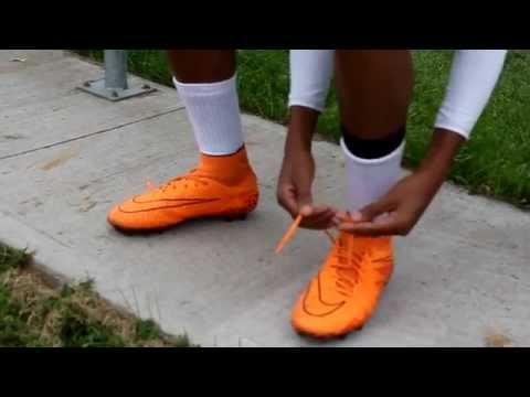 nike hypervenom orange test