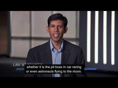 """Illinois ECE Professor Lav Varshney featured in """"The Age of A.I."""" a YouTube Originals series"""