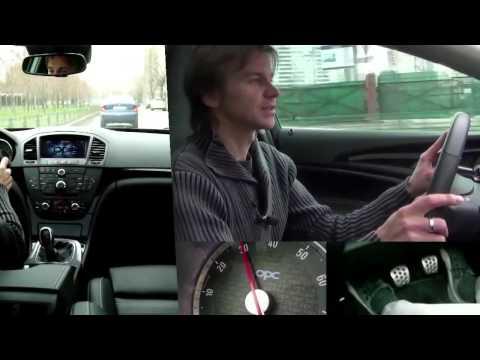 Первый урок вождения на автомате. Жена-трусиха))))