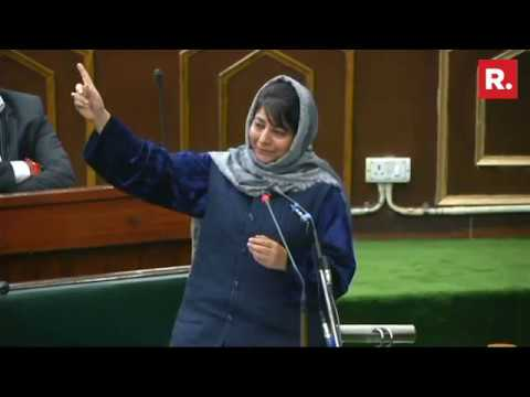 CM Mehbooba Mufti Strong Message To Separatists - Full Speech