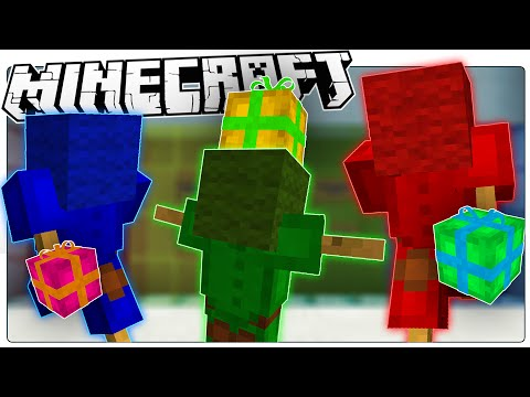 Minecraft | GIFT-GIVING ROBOTS! | Custom Map