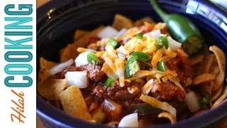 Texas Chili Recipe | How to make Chili | Hilah Cooking