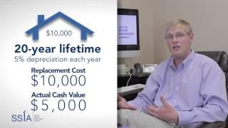 ssia replacement cost vs actual cash value