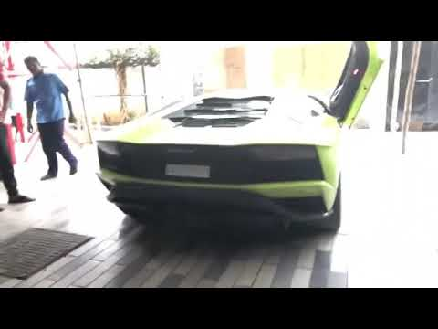 Lamborghini in tirunelveli fire exhaust 8888 Akram Malik and Gaddafi Malik brothers