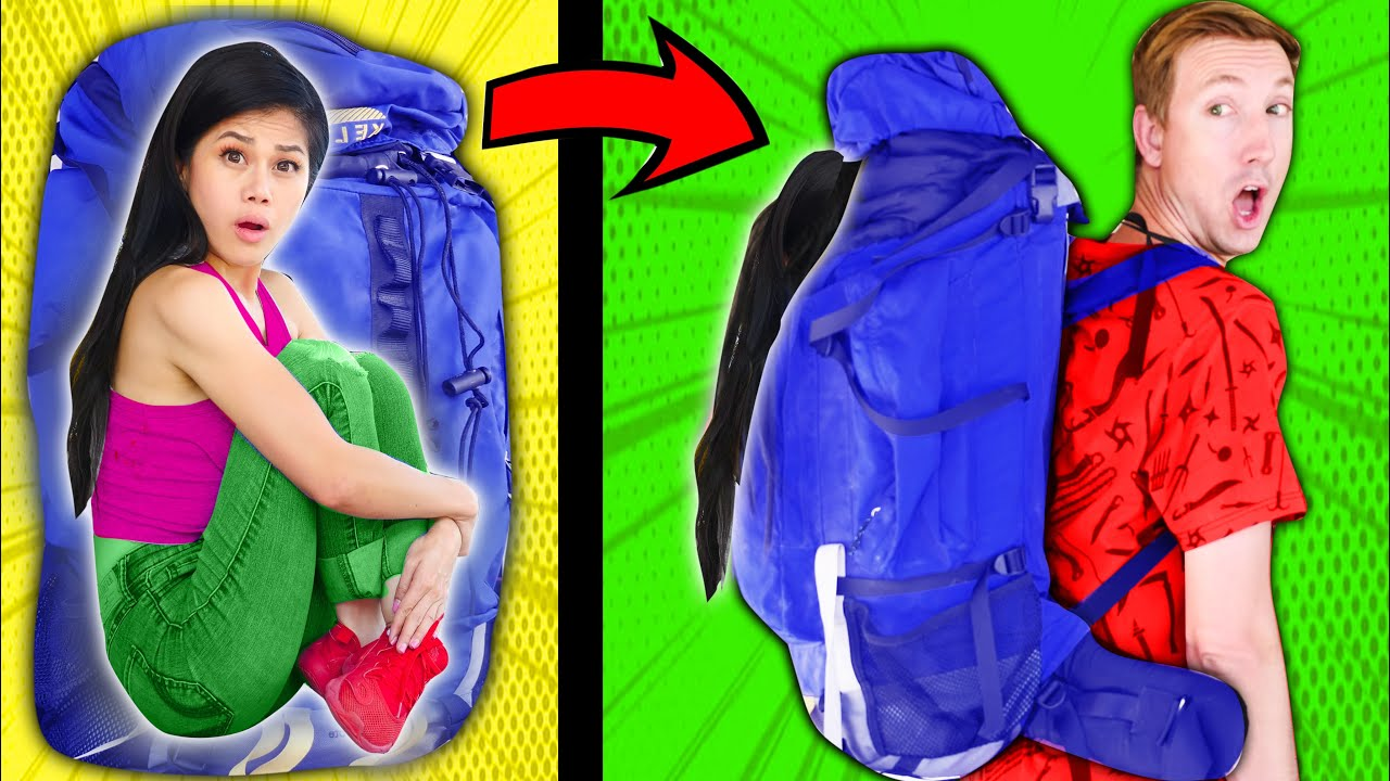 How To SNEAK a FRIEND Anywhere! Funny Hacks, Pranks and Ways to Sneak Friends into the Movies!