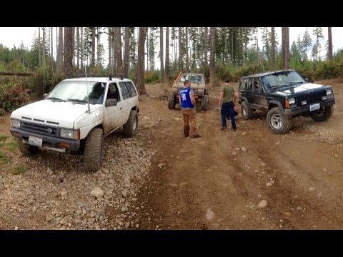 OFF ROAD: 4x4 Fun in Ford Explorer sport || Nissan Pathfinder || Jeep Cherokee