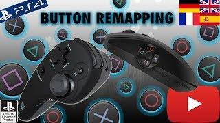 SplitFishGameware FragFX Shark PS4/PS3 - Button Remapping