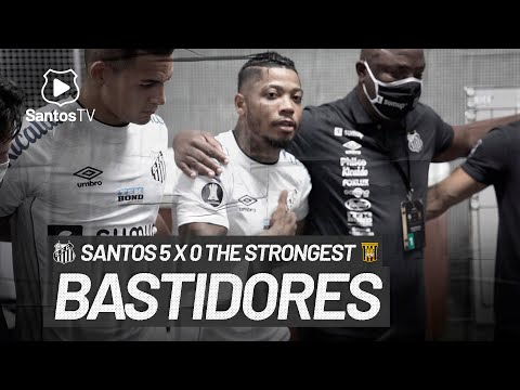 SANTOS 5 X 0 THE STRONGEST | BASTIDORES | CONMEBOL LIBERTADORES (04/05/21)