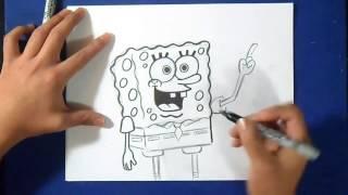 Cómo dibujar a Bob esponja(, 2015-02-15T20:18:40.000Z)