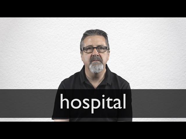 Sinonimo de hospital en ingles