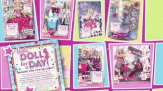 2010 Barbie Doll For A Day Instant Win Sweepstakes Commercial