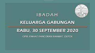 September 30, 2020 - IKG - Sukacita Orang Tua