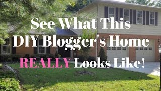 See What a DIY Blogger's Home REALLY Looks Like: My Home Tour - Thrift Diving