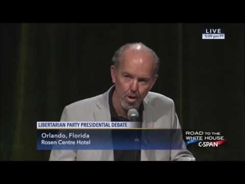 Libertarian National Convention - Libertarian Presidential Debate - CSPAN - 05 28 2016