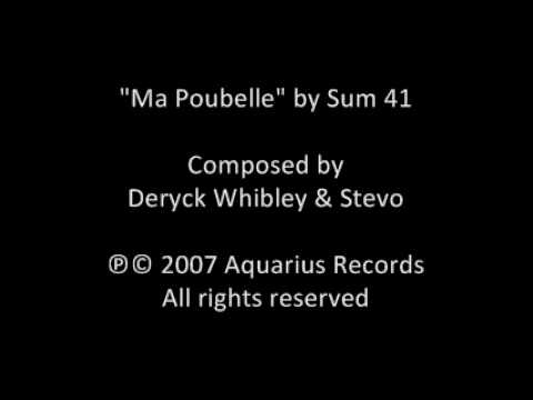 Sum 41 - Ma Poubelle
