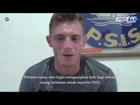 Ngobrol Singkat Bareng Petar Planic Setelah Gabung PSIS Semarang