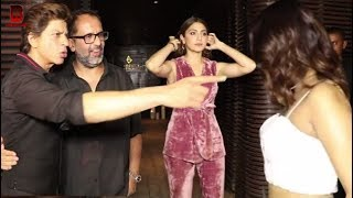 Zero Movie's Director Anand L Rai Celebrate Birthday Party With Shahrukh Khan, Anushka Sharma