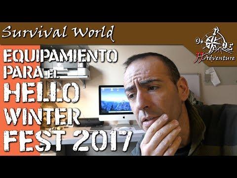 Equipación hello winter festival 2017