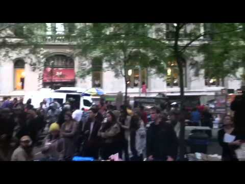 Occupy Wall Street - Zuccoti Park Singer/Song writer 10-16-