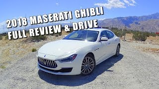 BETTER THAN AN M5? 2018 MASERATI GHIBLI - Full Review and Drive