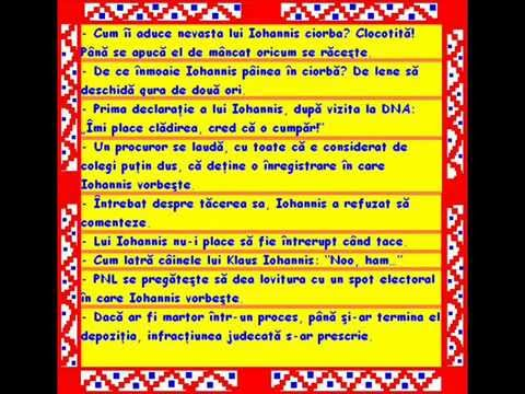 Glume - Iohannis - YouTube