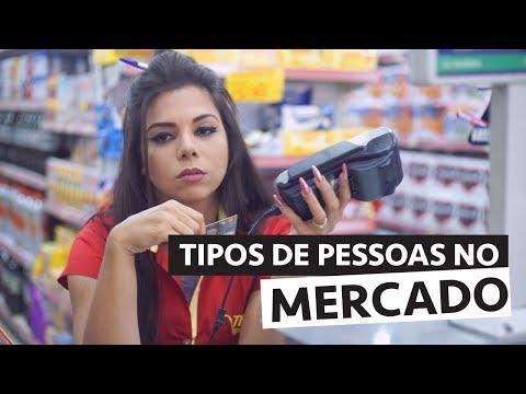 TIPOS DE PESSOAS NO MERCADO feat. Bruna Noronha