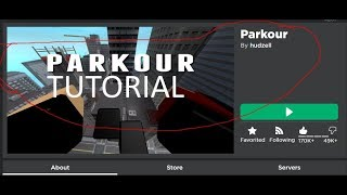 Roblox Parkour How To Wallclimb Boost,Long Jump | Voice Tutorial