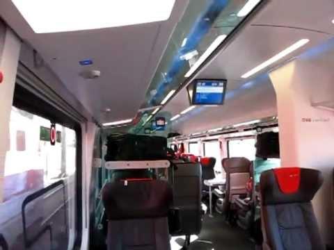 RailJet First Class - Wien Westbahnhof