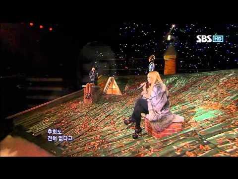 2NE1 - It Hurts (투애니원 - 아파) @ SBS Inkigayo 인기가요 101107