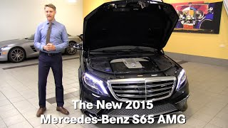 The New 2015 Mercedes-Benz S65 S-Class AMG Minneapolis Minnetonka Bloomington MN Walk Around