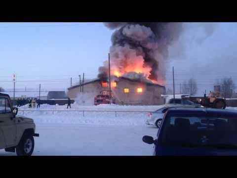 Пожар в Пижанке