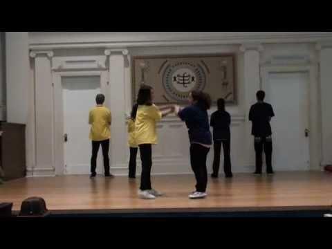 Bahai Youth Workshop Racism Dance