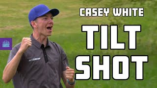 Casey White Makes an INCREDIBLE Shot With the Discmania Tilt | GATEKEEPER MEDIA DISC GOLF HIGHLIGHT