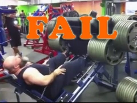 Officially Biggest Idiot Ever In The Gym - This Is Why Ego Lifters End Up  In Hospital