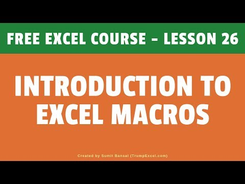 excel tutorial free youtube