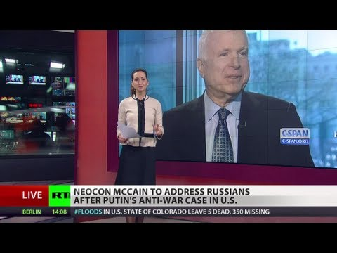 Copying Putin? McCain offers his own Op-Ed to Russian media