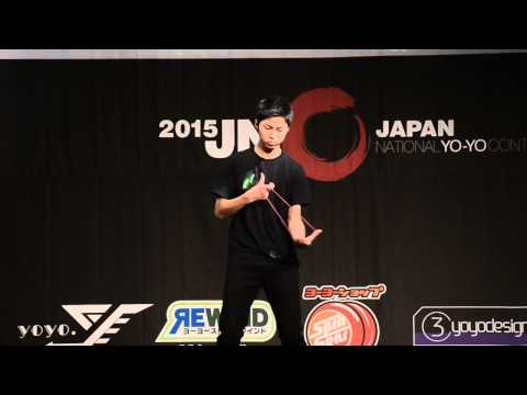 C3yoyodesign present JN 2015 1A Final Champion Takeshi Matsuura