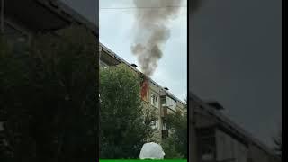 В Минусинске выгорела квартира