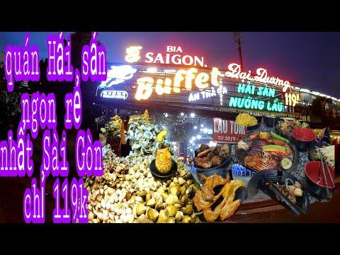 Quán Buffet hải sản ngon rẻ và đông khách nhất Sài Gòn   #chiasehaytv