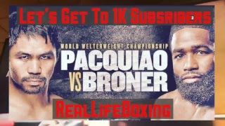 MANNY PACQUIAO vs ADRIEN BRONER LIVE FIGHT REACTION (No Video) #PacquioaBroner #RealLifeBoxing