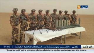 دفاع : كشف مخبأ يحتوي على كمية هامة من الأسلحة ببرج باجي مختار