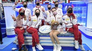 Сборная России впервые стала победителем ЧМ по фигурному катанию в Японии