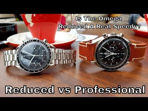 Omega Speedmaster Automatic Reduced Vs The Professional Moon Watch