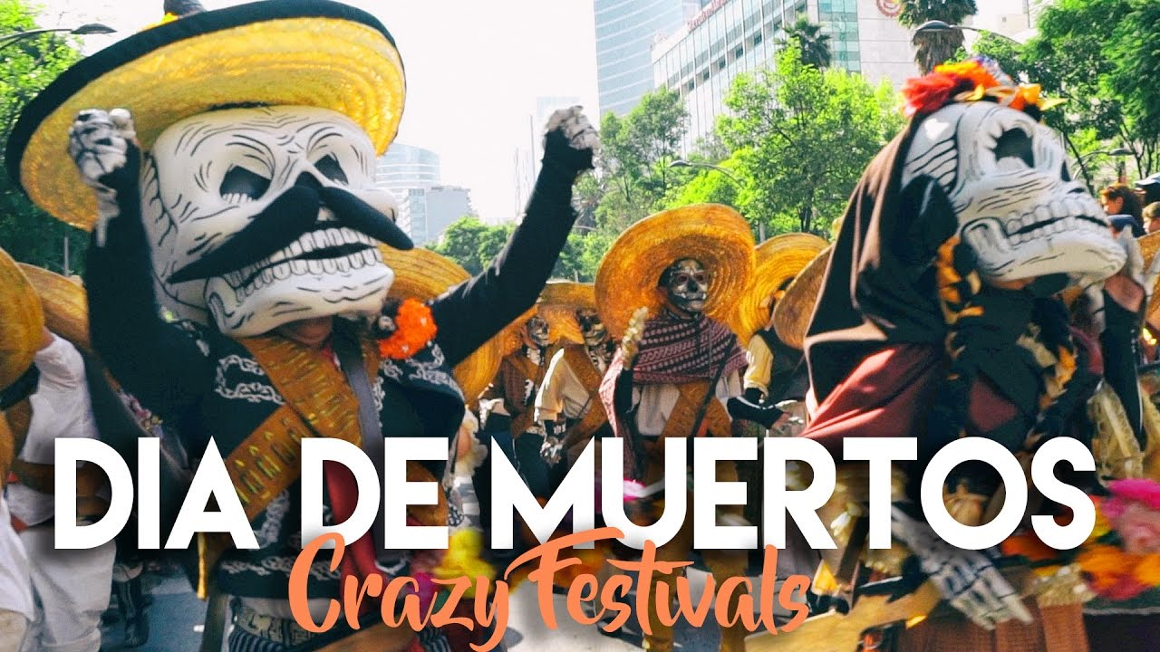 day of the dead parade mexico city youtube