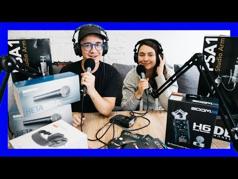 Podcast Gear Unboxing & Setup!