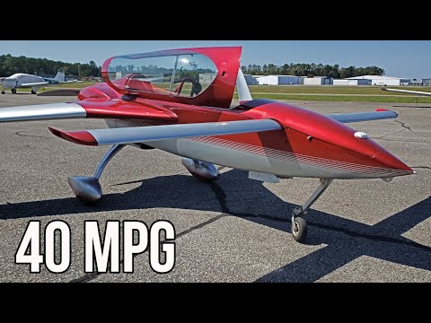 The Long EZ Is One Of The Most Fuel Efficient Airplanes To Own