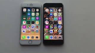 iPhone 6 vs 6s on ios 11.0.3 !