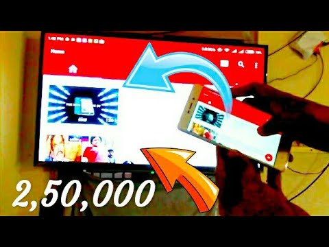 How to use wireless display in all Redmi mi phones, mobile screen on tv in mirra cast enabled TV