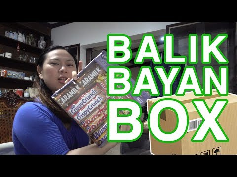[UNB] What's inside a Balikbayan Box from Canada Part 2 - Balikbayan Box Unboxing
