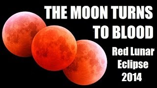 BLOOD RED MOON 2014 - What Does It Mean?